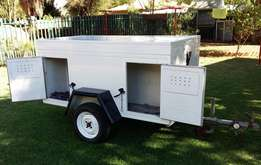 4 Bed dog trailer for sale