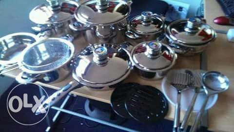 Imported Stainless Steel Cooking Pots with Timers Nairobi CBD - image 2