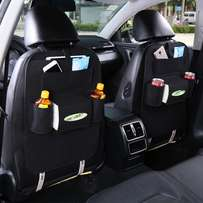 auto car back seat storage organizer