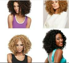 Wavy and Curly heat resistance wigs
