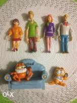 Scooby Doo Mystery Machine Gang and Garfields for Sale!