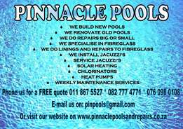 Pinnacle Pools Services
