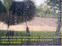 Car Glass Cleaning Technology