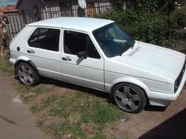 Golf 1 spares available