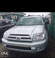 Tokunbo Toyota 4 Runner with Leather,DVD, Camera, Navigation, Low Mile