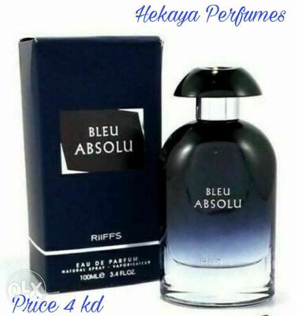 Bleu Absolu EDP by Riffs 100ml only 4kd and free delivery
