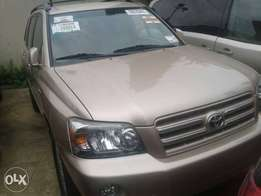 Toyota Highlander 2006 Model SUV for sale