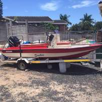 Soekie Bay boat & trailer
