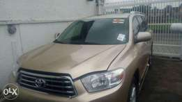 Foreign Used U.s Toyota Highlander 2008 For Sale 7.3M