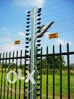 Electric and razor cut wire fences installation