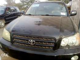 2004 Toyota highlander, accident free