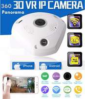 360° wifi Fish-eye IP CCTV Camera