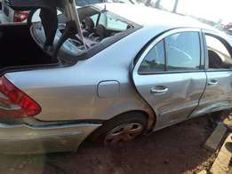 Mercedes E270 for stripping