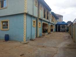 Fine renovated 3 bedroom flat all tiles floor all ensuit at Abule Egba