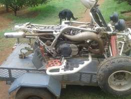 Yamaha Banshee 350 Quad stripping for spares
