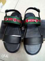 Black gucci sandals