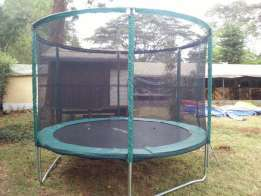 strong trampolines for hire