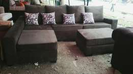 Sofa sets for sale (leather , material sets)
