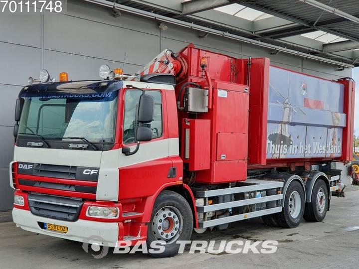 DAF CF75.250 6X2 Lenkachse Translift-SeitenLader-Aufbau Euro 5 - 2006
