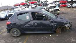 Peugeot 206 1.4i stripping for spares