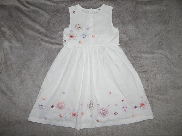 deaeb65d6754fc5 Легкий белый хлопчатый сарафан H&M на девочку 7-8 лет.Рост 122-128. 250 грн