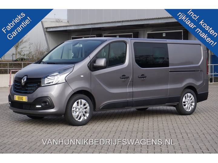 Renault Trafic 1.6 dCi Energy 145pk T30 L2H1 Dubbel Cabine Business - 2019
