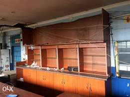 Display cabinet for sale, can be used as bar counter
