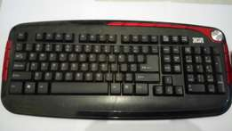 Wiresless XGR keyboard and mouse