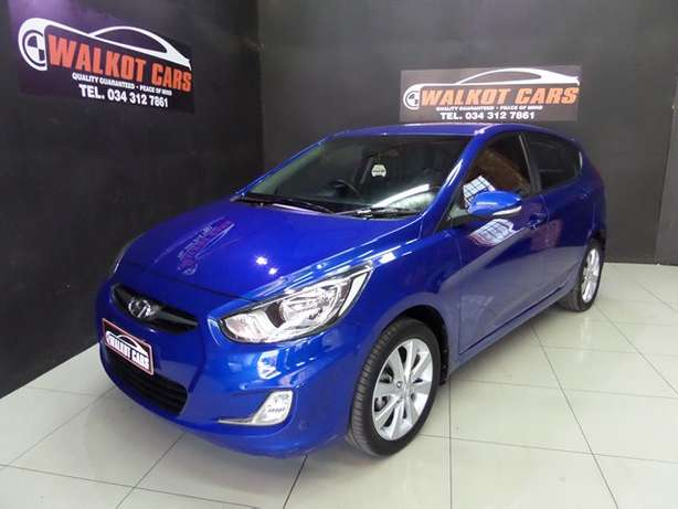 2014 Hyundai Accent 1.6 Fluid 5DR A/T Newcastle - image 1