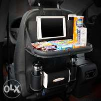 HOLIDAY OFFER! Trending Car Seat Organizer with Foldable Tabletop.