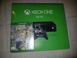 Xbox one sealed fifa 17 bundle black mate limited edition 500gb consol