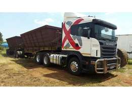 2000 SCANIA R420 TRUCK WITH KEARNEY Trailer Combination for sale