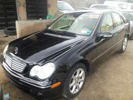 2007 Mercedes Benz 4matic C280 Black