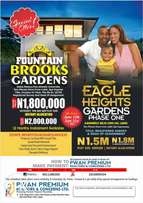 Land at Eagle Heights Garden Phase 1,10mins From Lekki Exp At N1.5m