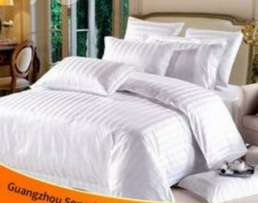 Pure white Bedsheet and duvet