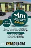 VIP plots for sale in AGBARA Phase 1 at giveaway price
