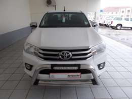2016 Toyota Hilux 2.8Gd-6 4x2 Manual D/C