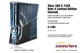 Xbox 360 S 1439 Halo 4 Limited Edition Console