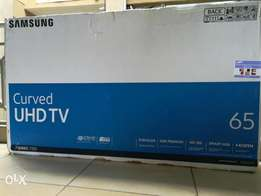 Samsung 65 inches Smart 4K UHD CURVED TV