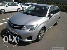 Toyota fielder brand new 2016 model, finance terms accepted
