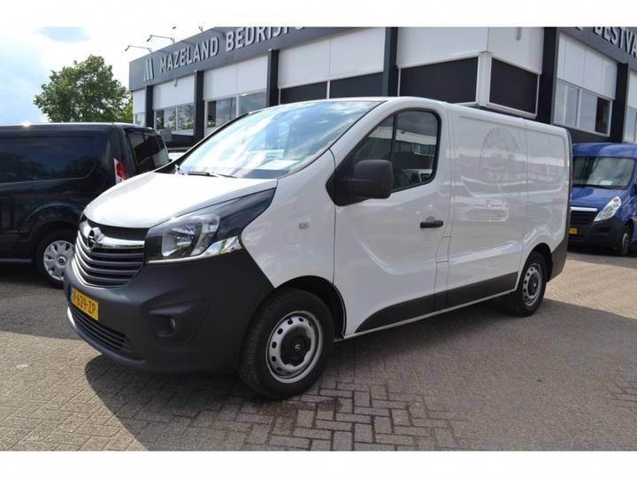 Opel Vivaro 1.6 Cdti - Airco - Kasteninbouw _ 10.950,- Ex. - 2014