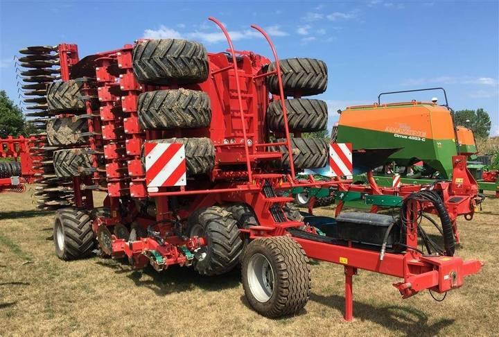 Kverneland U-drill 6000 Plus Bugseret Med Gødningsplacering - 2017