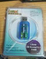 USB Sound adapter 3D