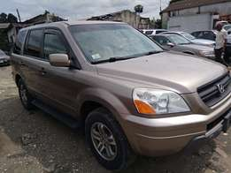 Honda pilot 2006 model from USA