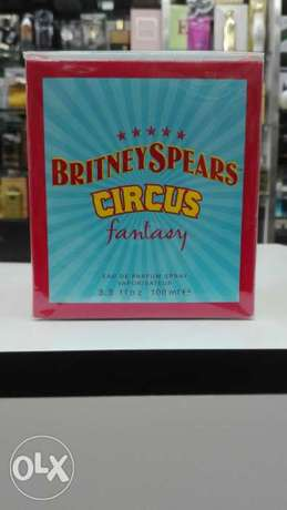 Britney Spears circus fantasy perfume عطر
