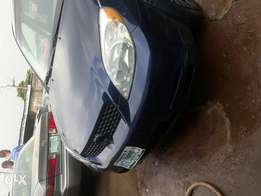 Registered 2004 model Toyota Matrix