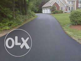 Tar Re-surfacing & paving bricks