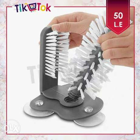 فرشاة تنظيف أكواب مزدوجة Double Brush Suction Cup Cleaner Zezenia - image 3