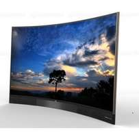 new brand 48 inch tcl smart tv curved inbult apps,youtube,google shop