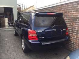 clean 2003 accident free Toyota Highlander